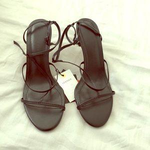 Zara ankle sandals